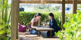 宮古島の女子旅は、買い物もエステも欲張りなかわいい島カフェ巡りで。