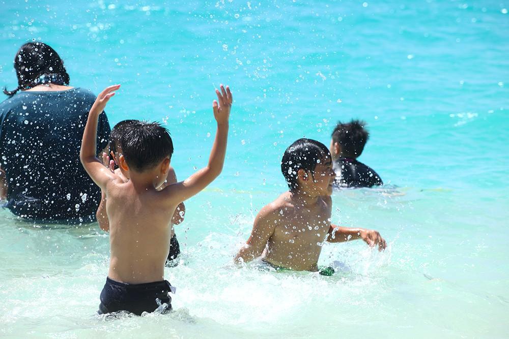楽しく安全に海遊び
