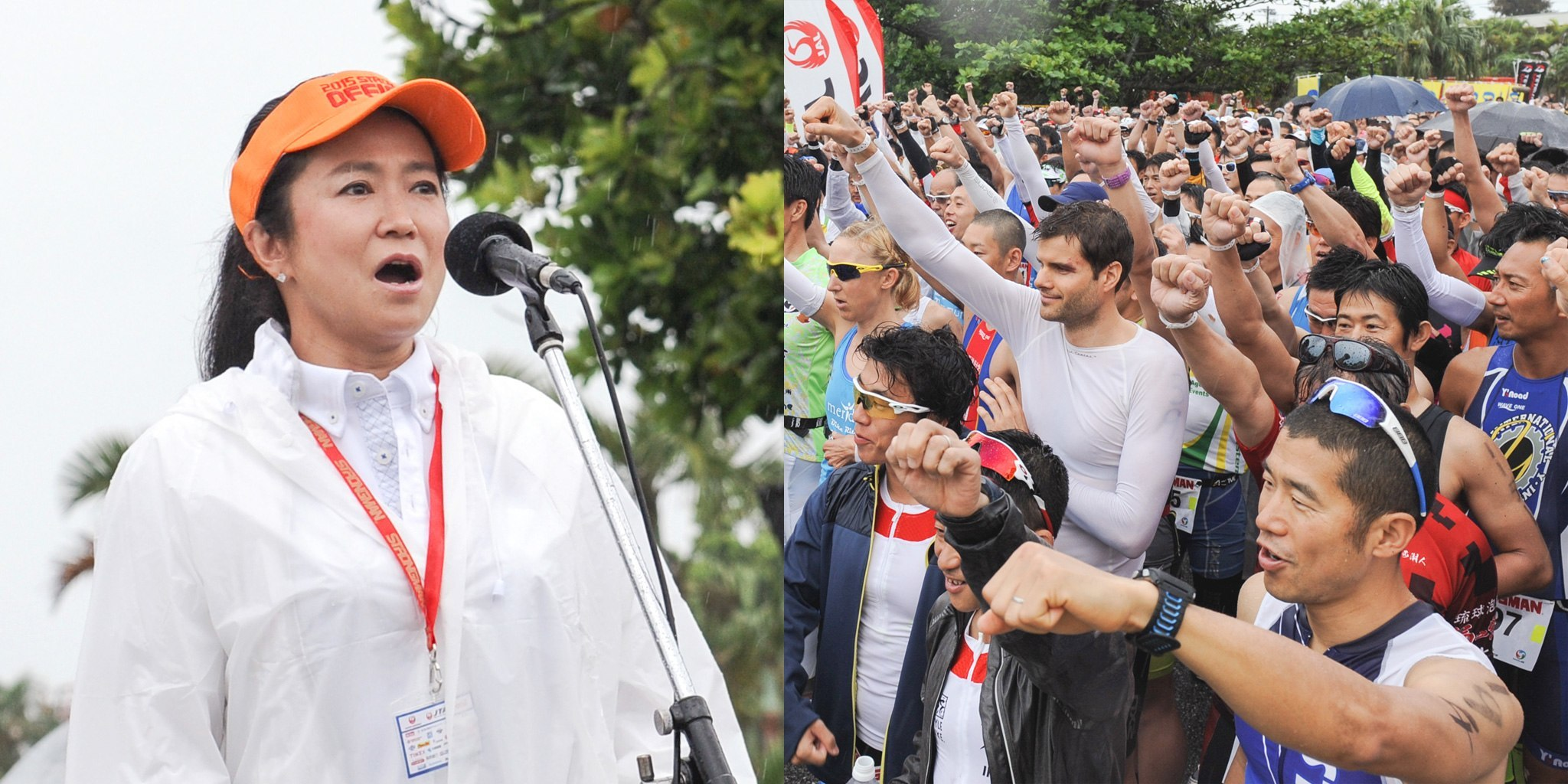 世界的オペラ歌手の中丸三千繪さんが国家を歌う