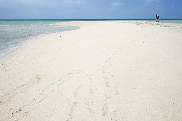 宮古島 ユニの浜に上陸