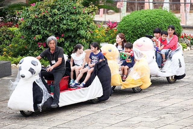 「鯉のぼりフェスト2015」パンダ列車