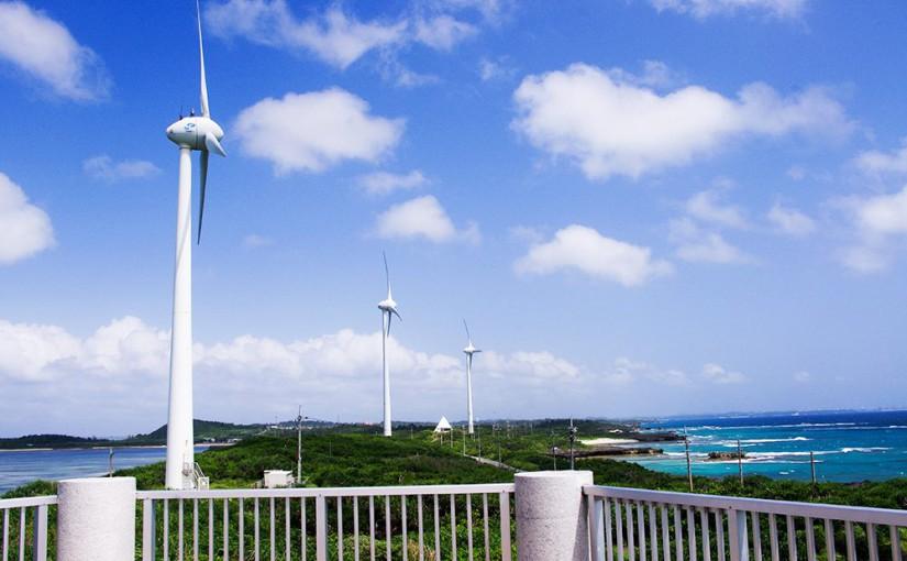 宮古島西平安名崎の風景
