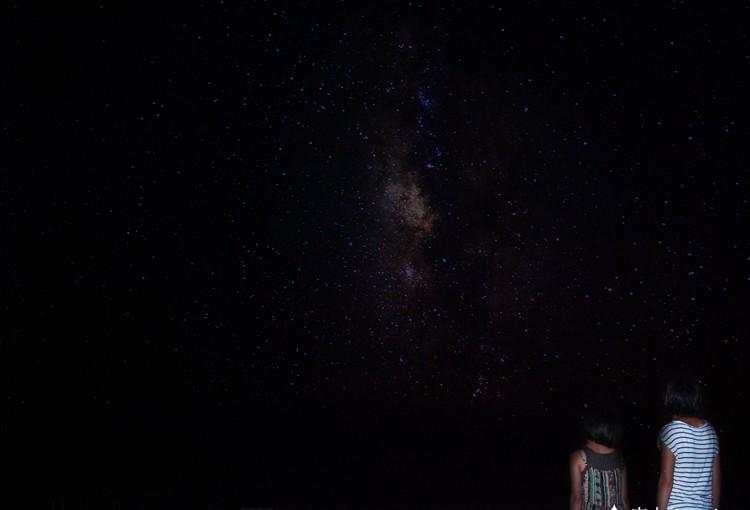 宮古島の満天の星空