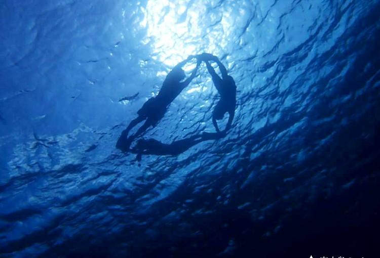 宮古島の海中